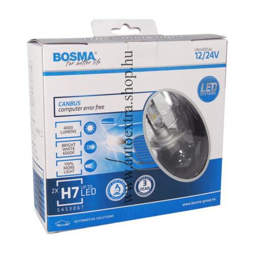 H7 LED izzó szett