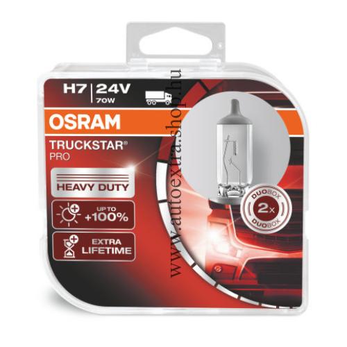 Izzó szett H7  Osram Truck Star PRO